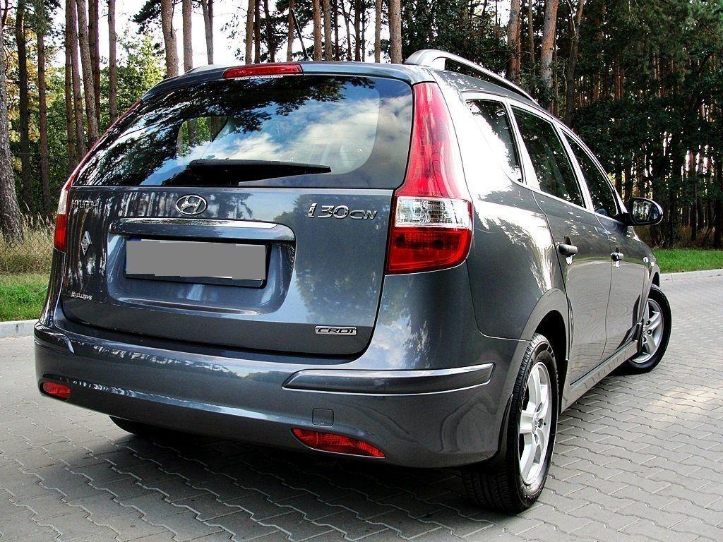 HYUNDAI i30 Разборка Крышка багажника Бампер Фонарь Дверь Пороги
