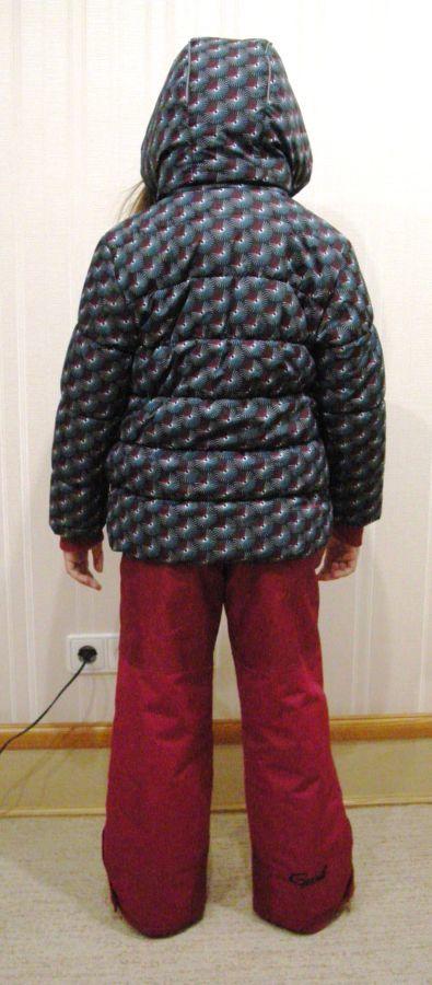 GUSTI (Канада) Фирменный зимний костюм для девочки 8лет рост 134