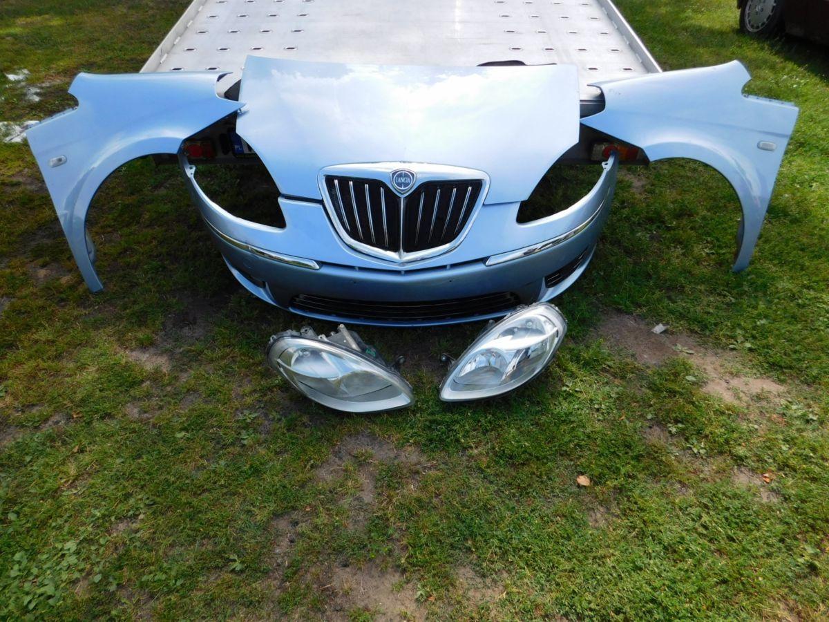 Lancia Thema Бампер Капот Фара Четверть Дверь Крыло
