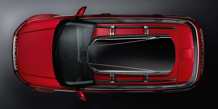 VPLVR0062 Бокс на крышу багажника, Black 440 L  Range Rover Evoque