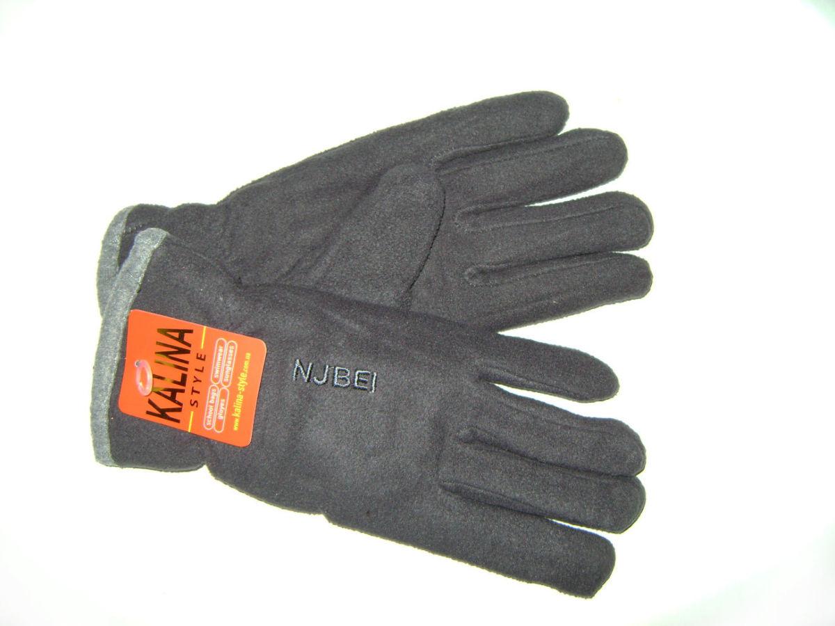 Теплые женские перчатки из флиса