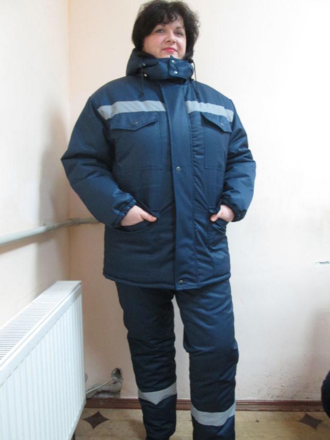 Куртка рабочих, дорожников, для работы при плохой видимости