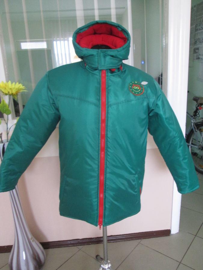 Куртки теплые, на синтепоне, на зиму, с капюшоном, рабочие