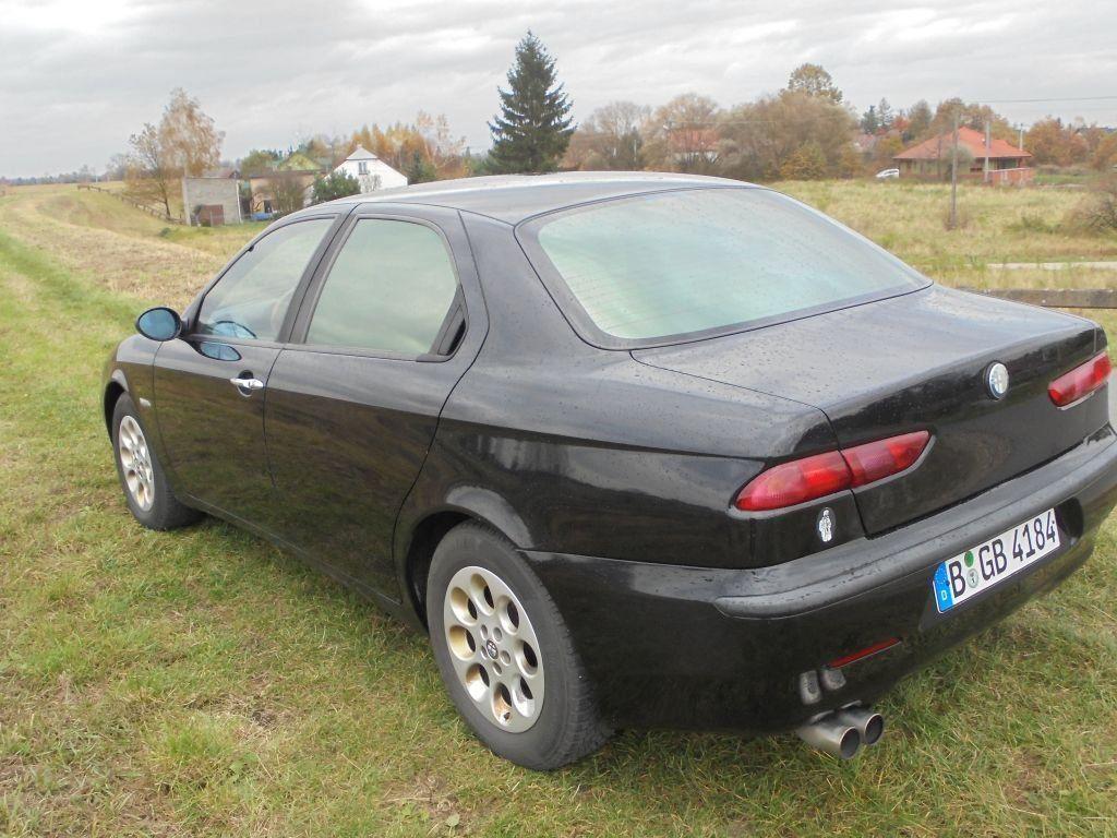 Крышка багажника Alfa Romeo 156 (Альфа Ромео 156) 1997-2007 г.