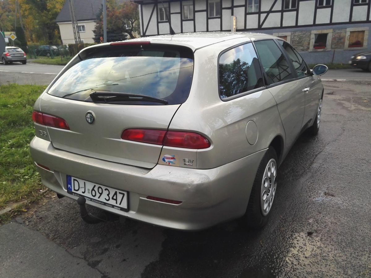 Стекло багажника Alfa Romeo 156 (Альфа Ромео 156) 1997-2007 г.