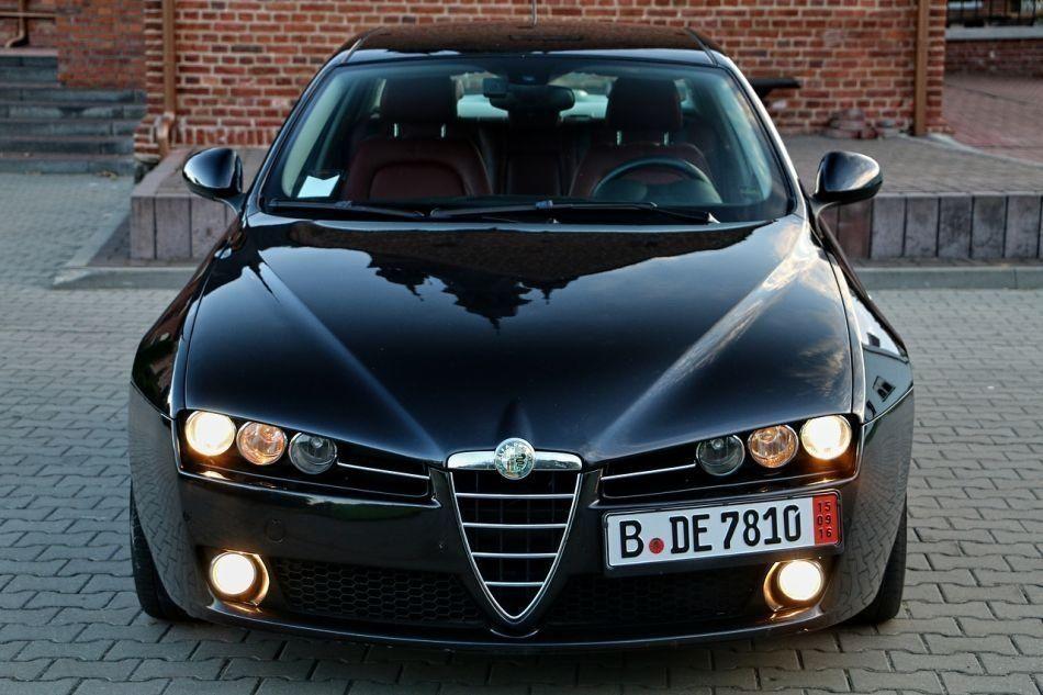 Alfa Romeo 159 (Альфа Ромео 159) 2005-2011 г. Бампер:передний, задний