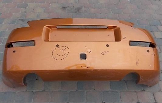 Разборка Nissan 350Z Бампер зад Крышка багажн Фонарь Зеркало Четверть
