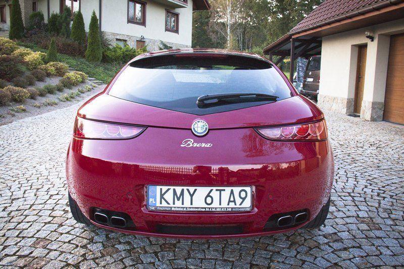 Стекло багажника Alfa Romeo  Brera (Альфа Ромео Брера )