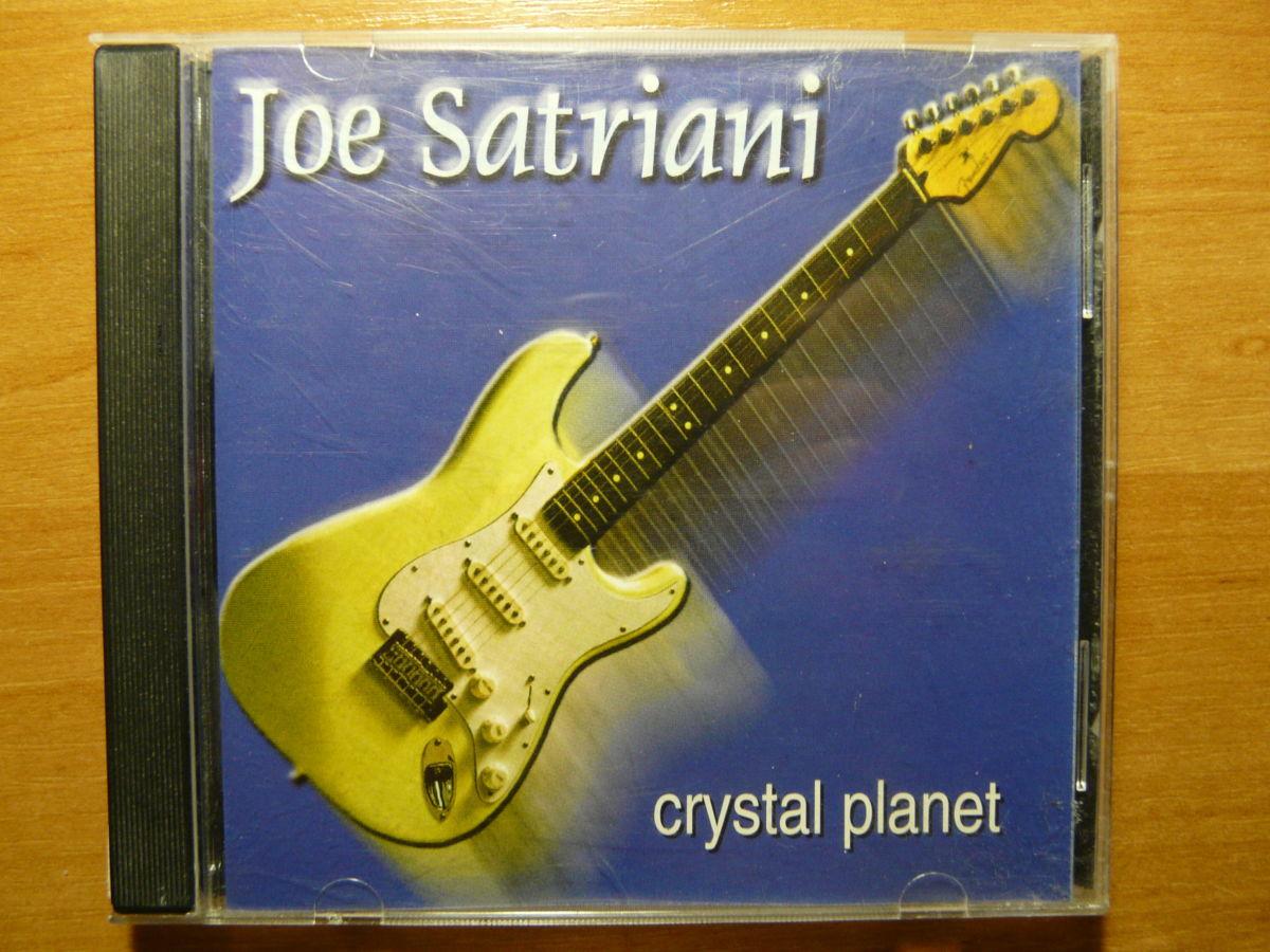 "CD Joe Satriani ""Crystal Planet"" Epic 1998"