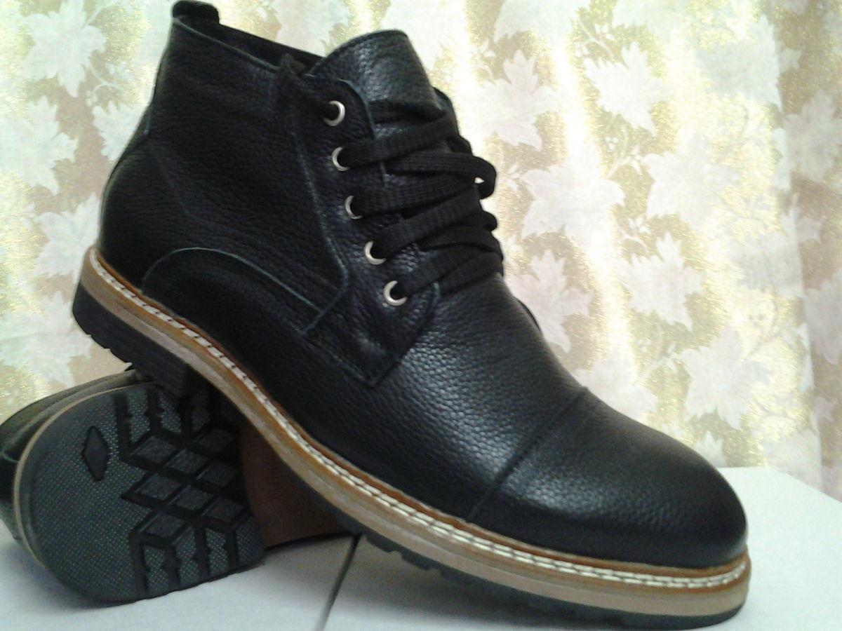 Стильные зимние ботинки на шнурках FARO скидка
