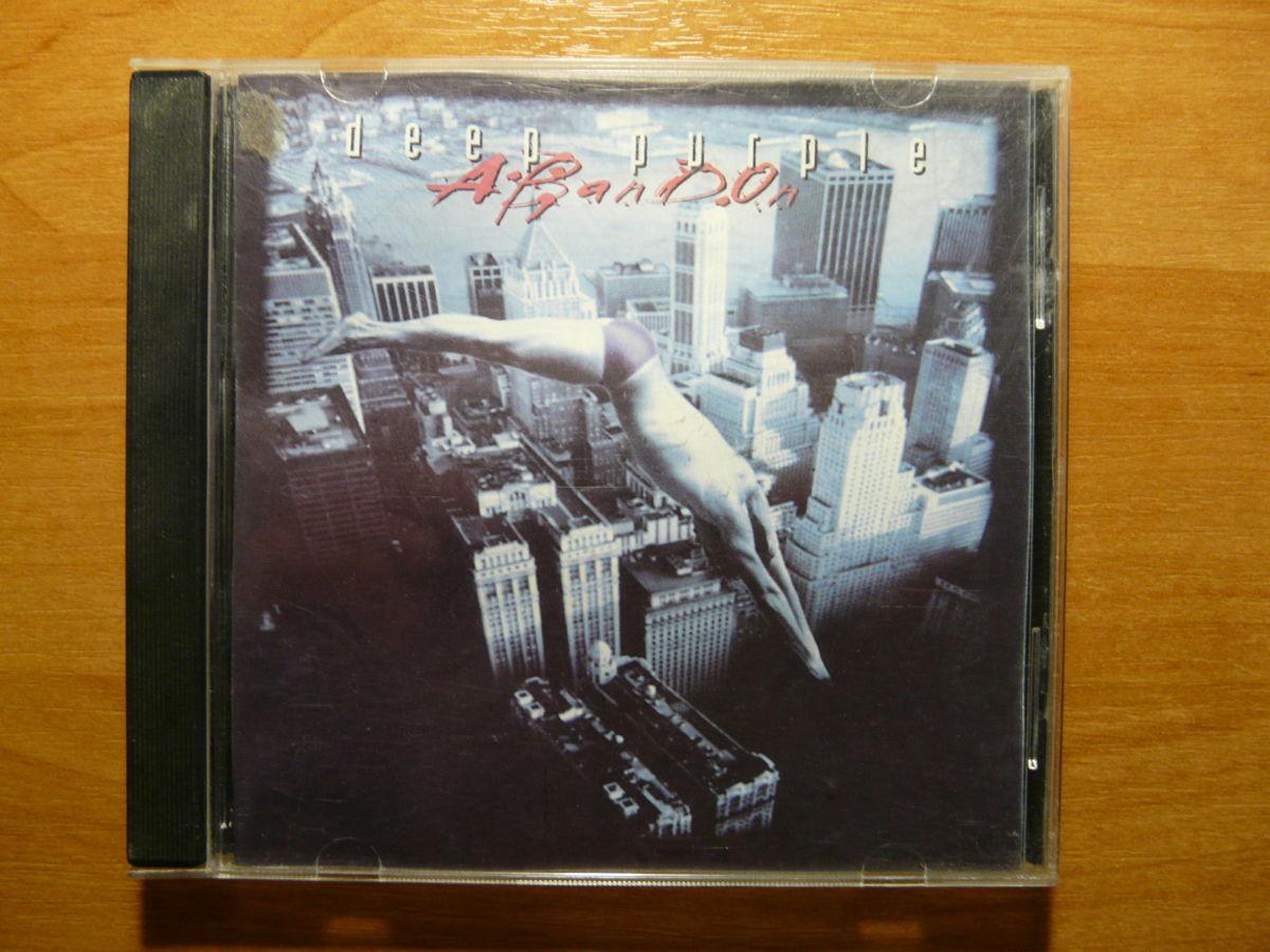 "CD Deep Purple ""Abandon"" EMI 1998"