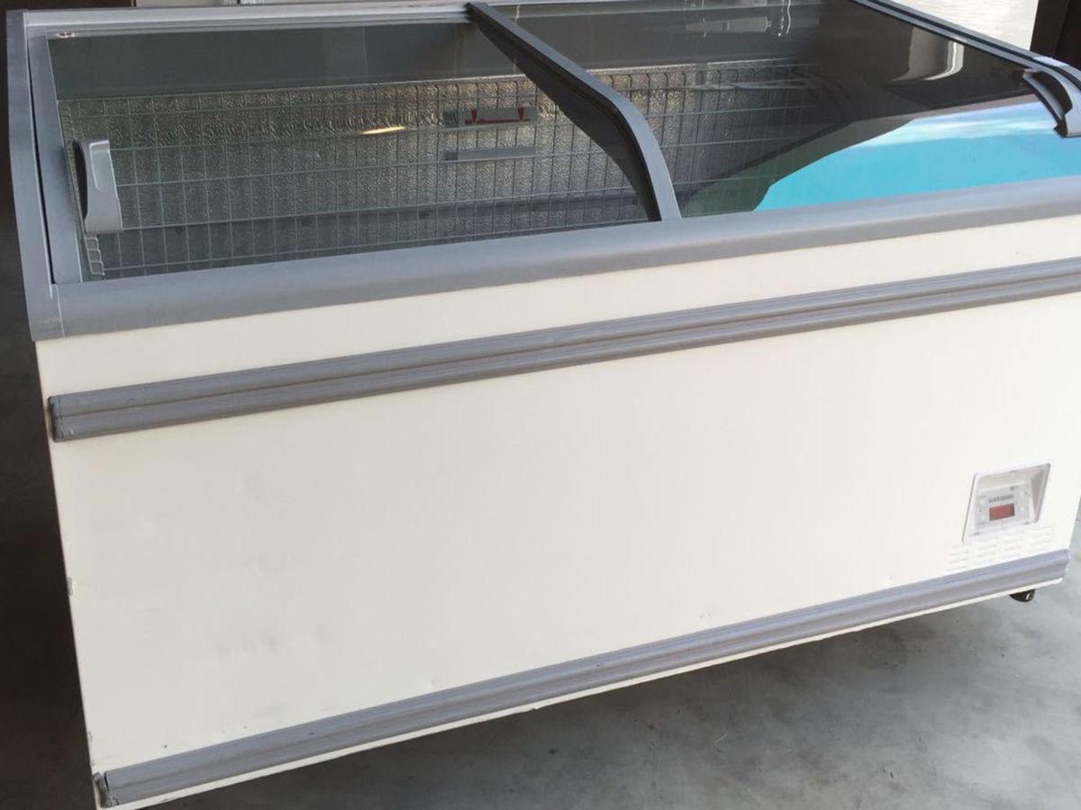 Купить ларь морозильный бу AHT Athen 210 объем 1100 л