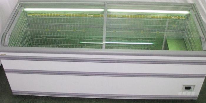 Купить морозильные лари с прямым стеклом бу АНТ Paris 210