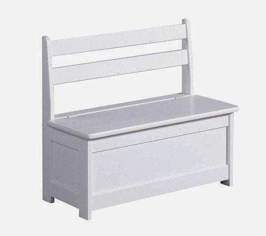 Фото - Лавка, скамья с ящиком для хранения, деревянная