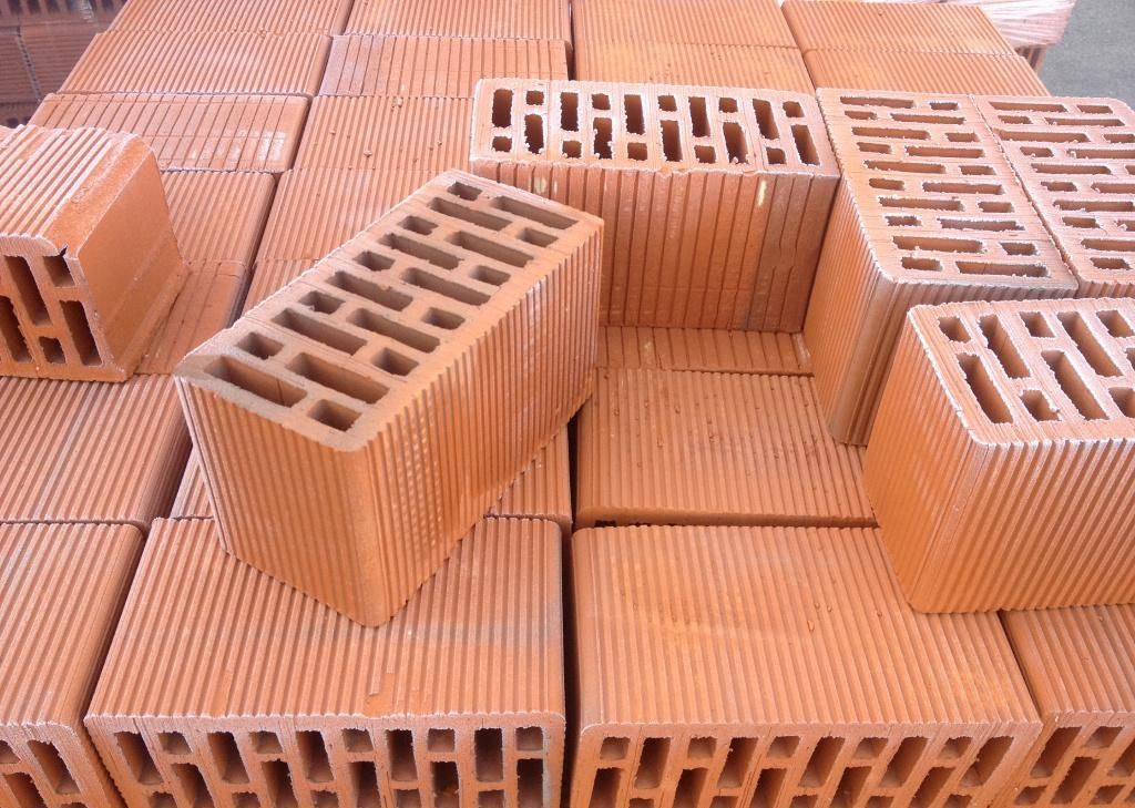 Фото - Керамичный блок 238*120*380 (керамоблок,экоблок,кератерм,теплокерам)