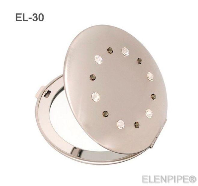 Зеркальца косметические EL-30 – EL-37 с кристаллами Swarovski 4