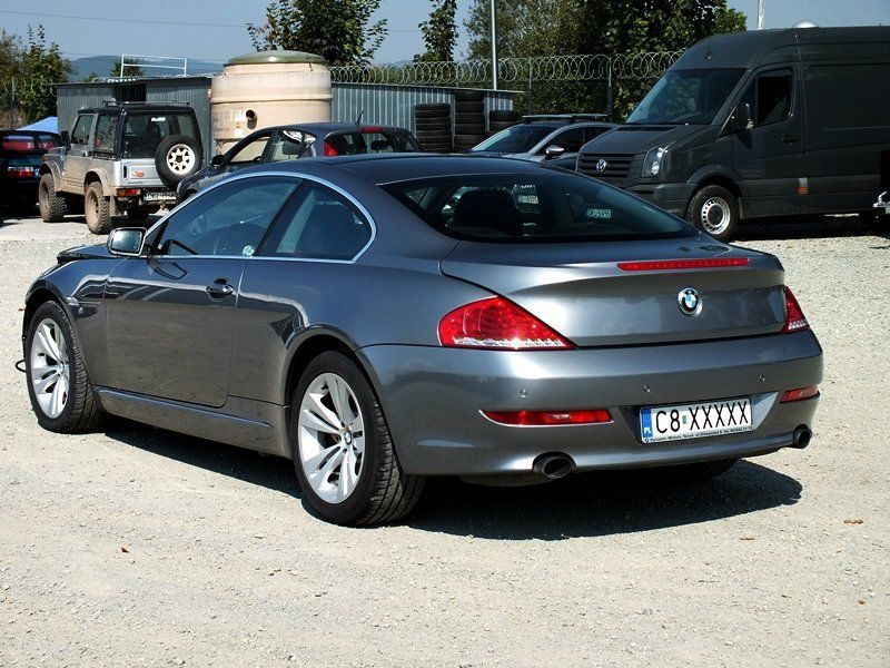 BMW E63\E64 (БМВ E63\E64) Крышка багажника  2003-2010 г.
