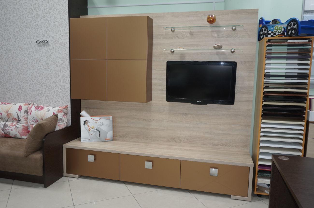 Гостиная МДФ/ДСП, L-220см. Распродажа с магазина