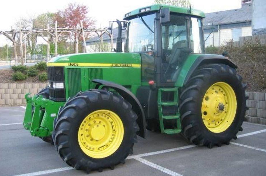 Б/У трактор John Deere 7710