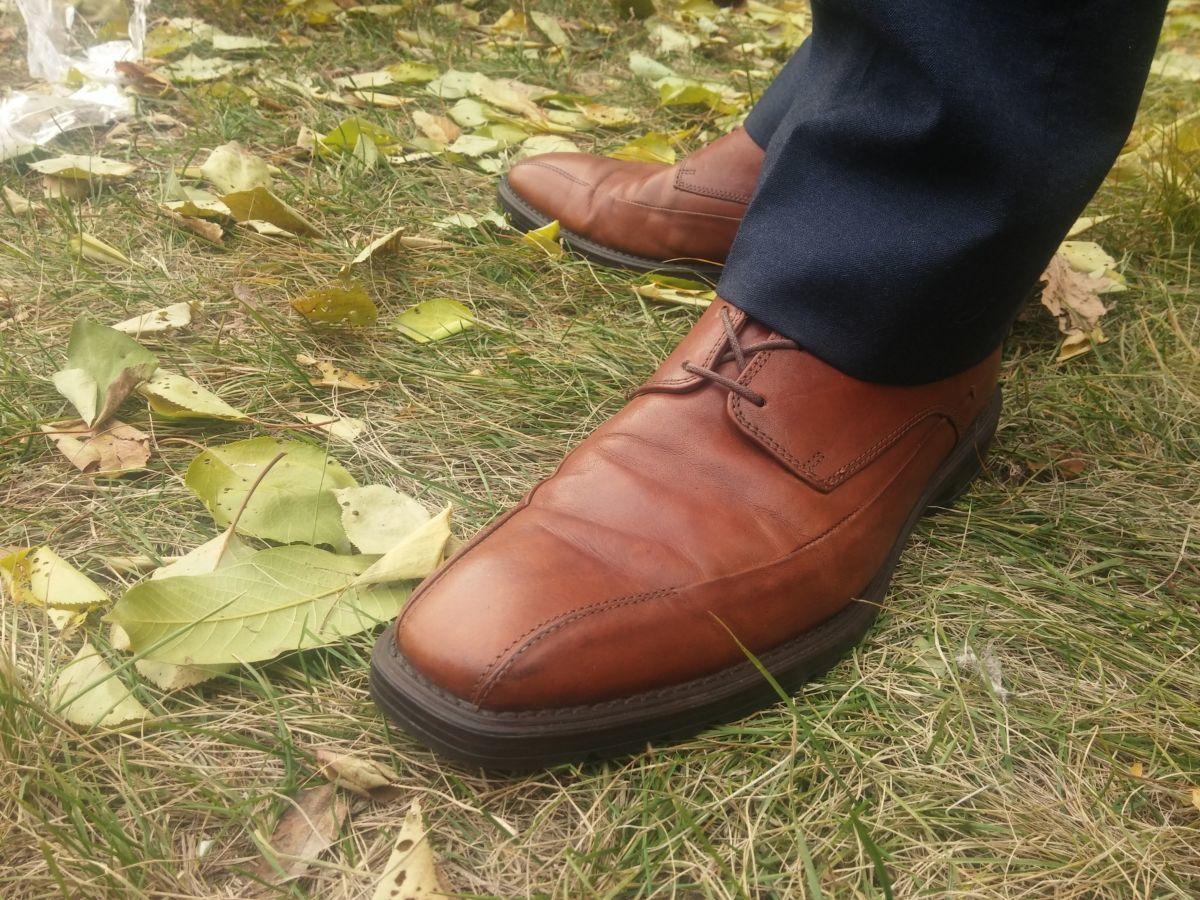 Фото 9 - Осение туфли Clarks 42.5 AirFlex
