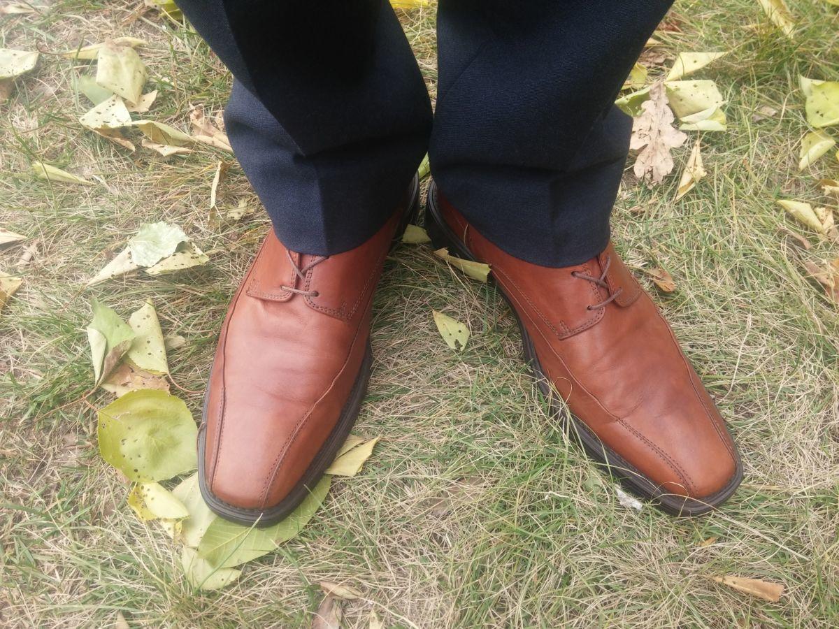 Фото 10 - Осение туфли Clarks 42.5 AirFlex