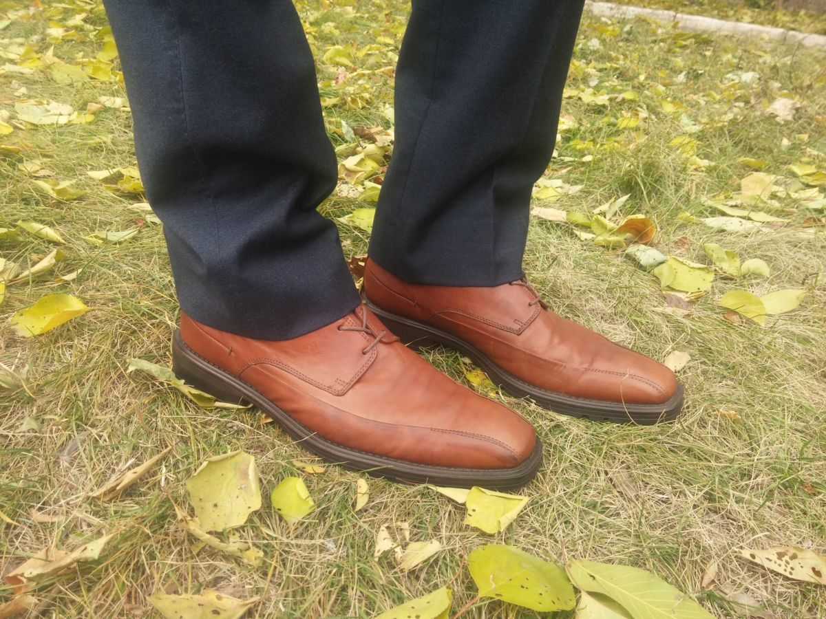 Фото - Осение туфли Clarks 42.5 AirFlex