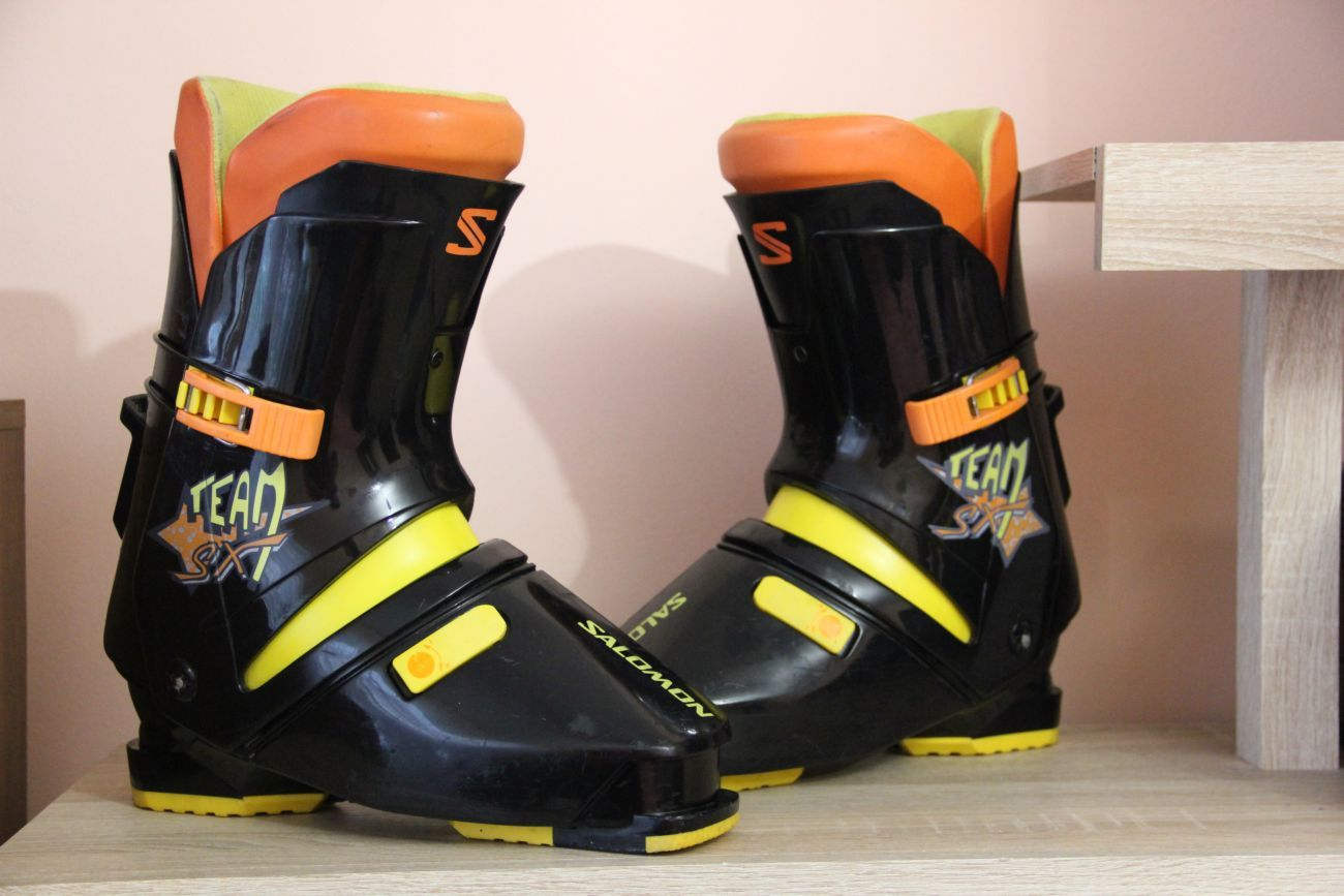 Ботинки для лыж Salomon Team SX (made in France)