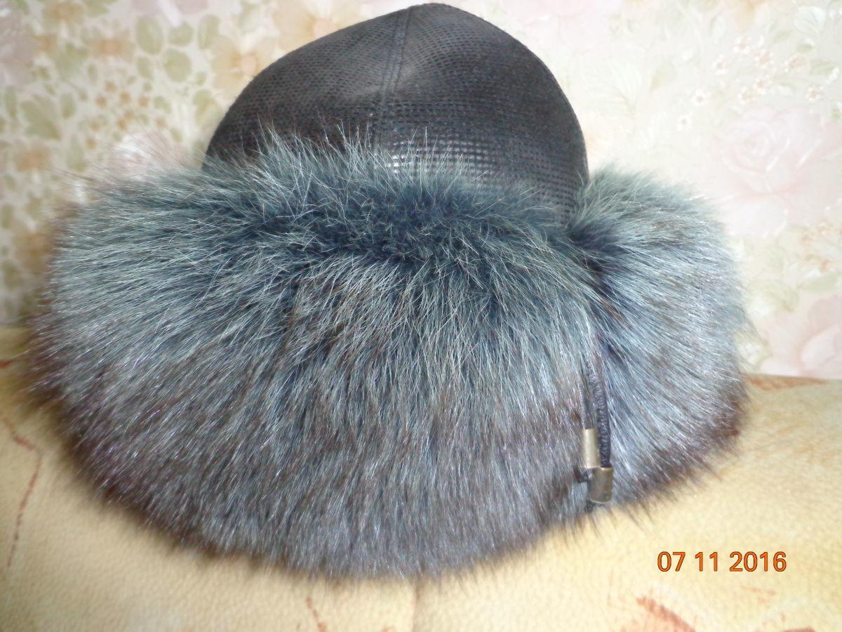 Женская меховая шапка - песец 14be310c2dc9e