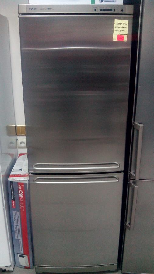 Холодильник Bosch 1.8м no-frost нержавейка в идеальном состоянии гаран