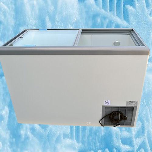 Купить морозильный ларь с прямым стеклом Crystal EKTOR