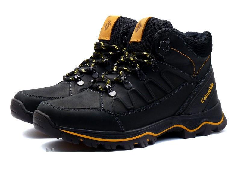 a6ff0420ca0d Мужские зимние кожаные ботинки Columbia NS black  1 450 грн ...