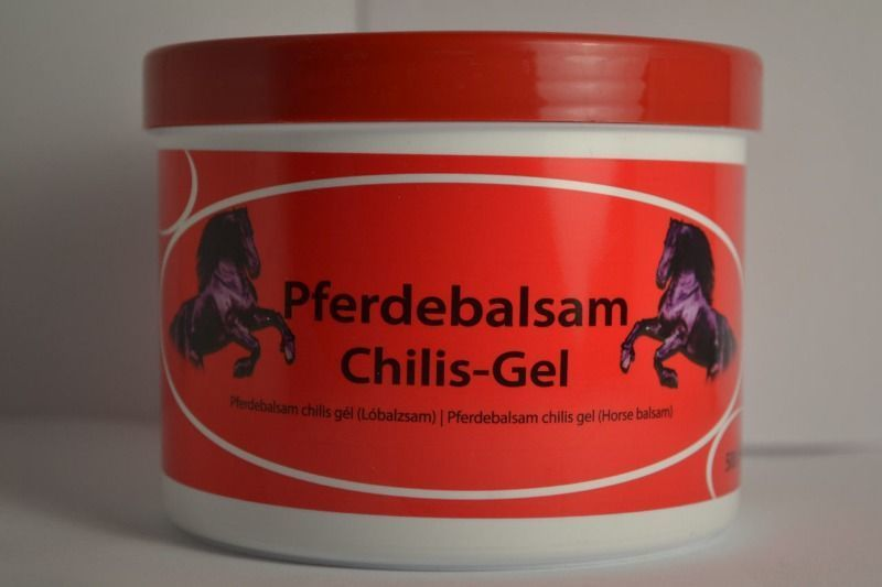 Разогревающий бальзам Pferdebalsam Чили - Гель 500 мл