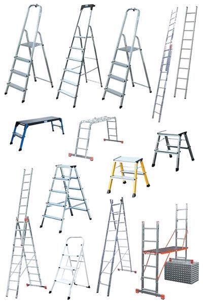 Лестницы алюминиевые аренда. Стремянки, лестницы. Аренда, продажа .