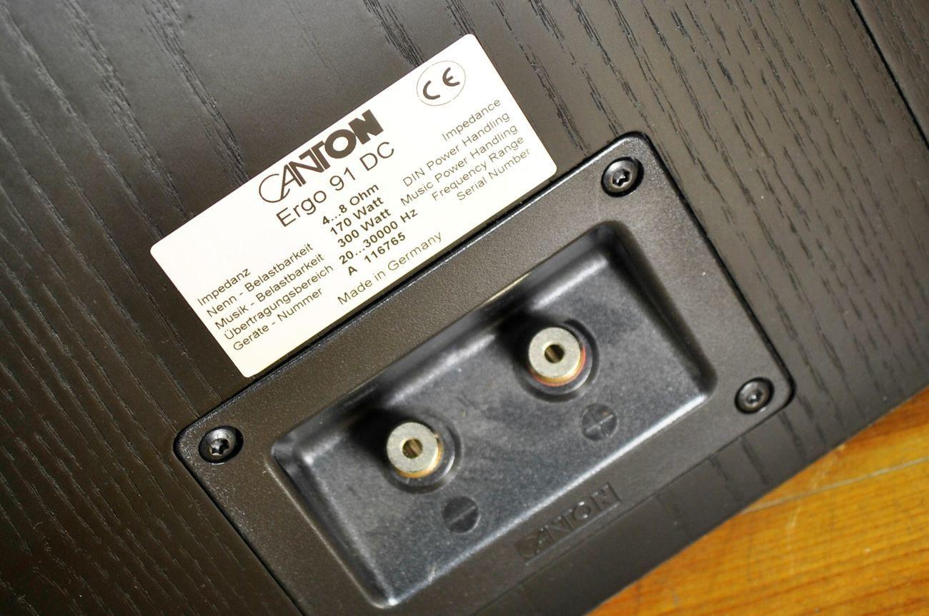 Фото 5 - CANTON ERGO 91 DC - крутая элитная акустика. Как новые!