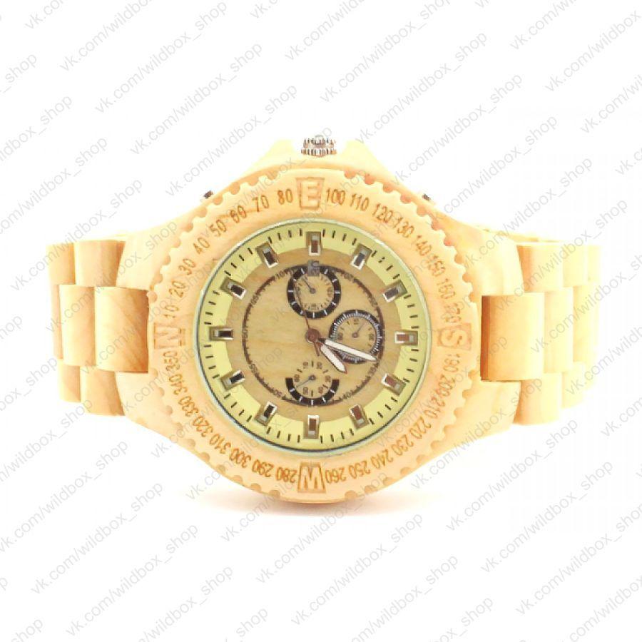 Деревянные наручные часы Maple Эксклюзив