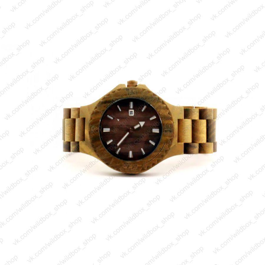 Деревянные наручные часы Haki Эксклюзив
