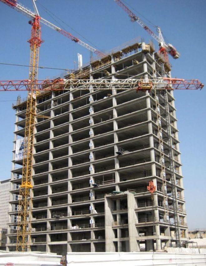 Работа на строительных объектах Израиля.
