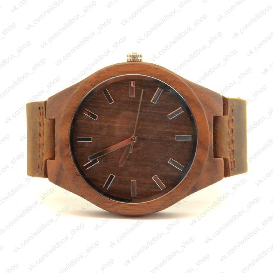 Деревянные наручные часы SkinWood Эксклюзив