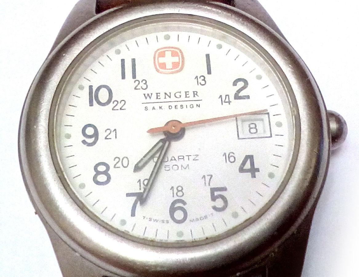 Wenger оригинал швейцарские женские часы с датой SWISS MADE  3 200 ... 860be2053217d