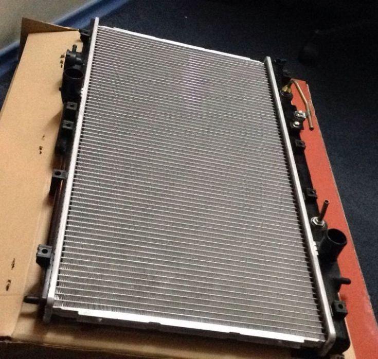 Радиатор охлаждения Mitsubishi Galant Митсубиси Галант