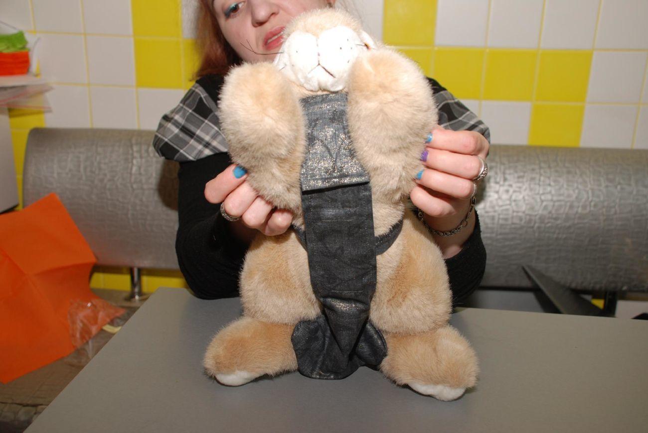 Подгузники для кроликов своими руками 15
