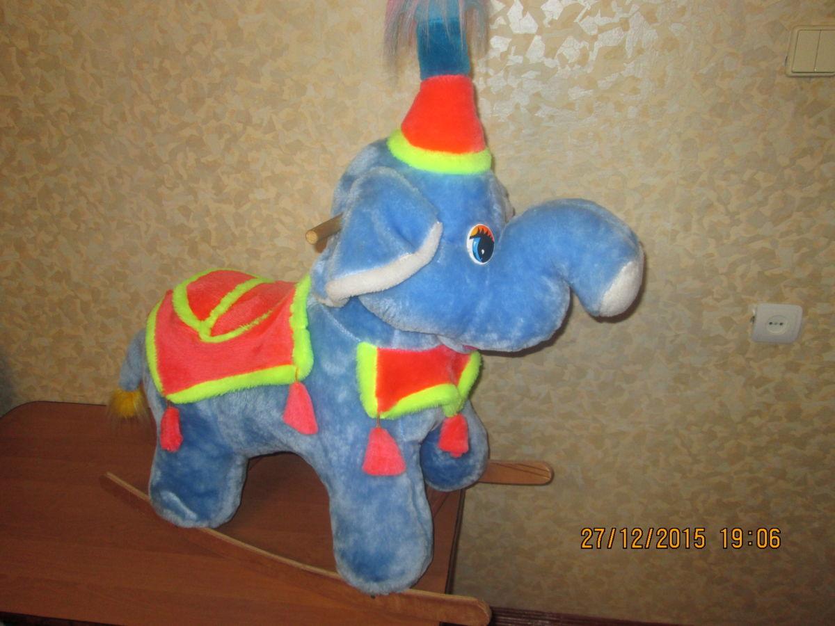 Слон-каталка