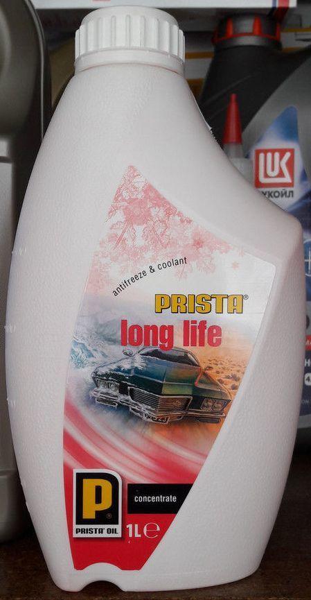 Антифриз концентрат красный PRISTA Long Life G12+ 1л Болгария