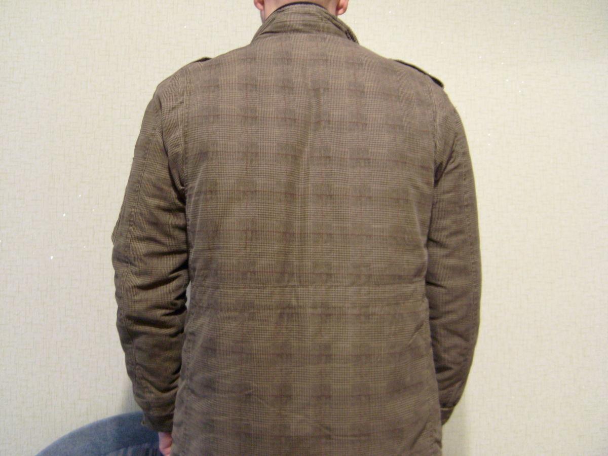 Фото 3 - Куртка мужская, стиль милитари, отличный крой.