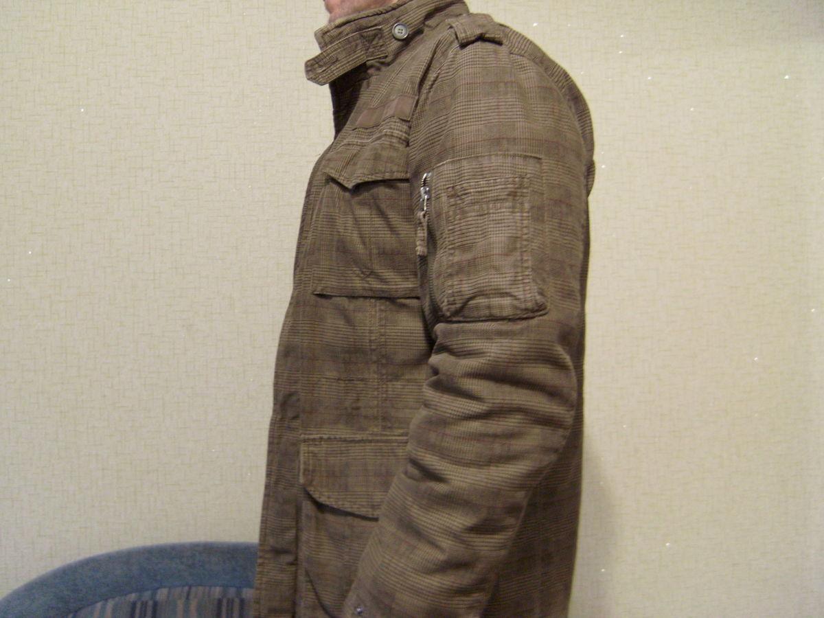 Фото 2 - Куртка мужская, стиль милитари, отличный крой.