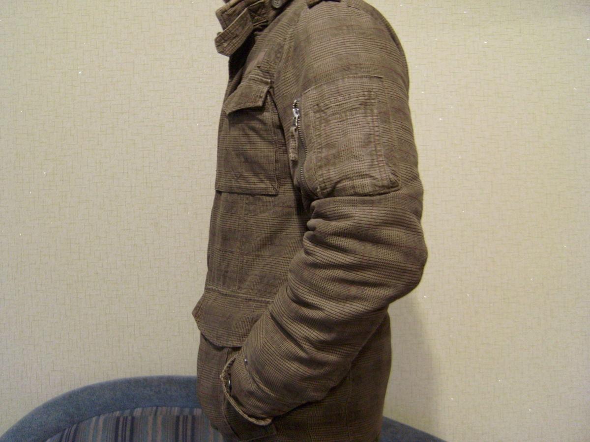 Фото 4 - Куртка мужская, стиль милитари, отличный крой.