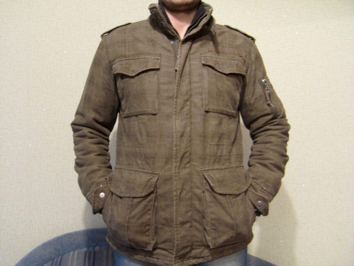 Фото - Куртка мужская, стиль милитари, отличный крой.