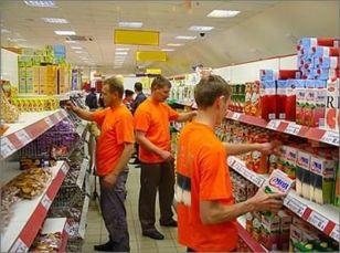 Мерчендайзер (работник супермаркета) в Польше
