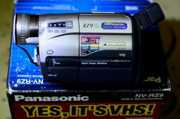 видеокамера panasonic VZ-9
