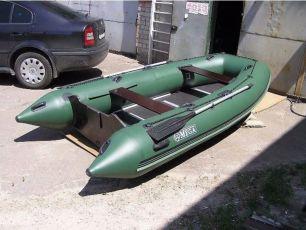 Лодка надувная моторная килевая Pelikan B-300( новая с документами )